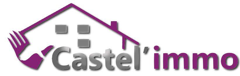 Logo JPG pleine largeure de Castel'immo, votre agence immobilière